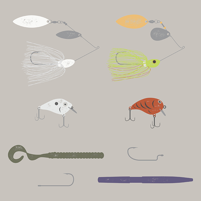 bass fishing starter beginner lures